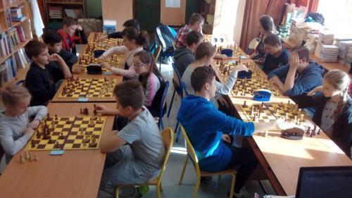 Mistrzostwa Szkoły w Szachach 2017